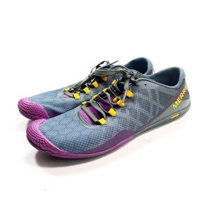 MERRELL Vapor Glove 3 Barefoot Trail Shoes Size 9